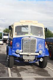 AEC Mandator Tractor unit ASL 473 at Leeds HCVS 09 - IMG 4006