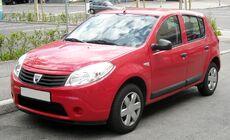 Dacia Sandero front 20090722.jpg