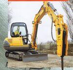 Fermec 150 excavator