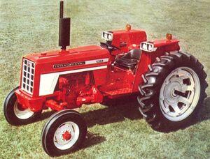 International 574 Row Crop 1971