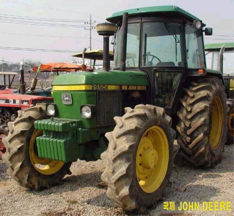 Kukje JD 2850K | Tractor & Construction Plant Wiki | FANDOM