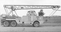1970s JONES KL-1010 MK3 Cranetruck Diesel