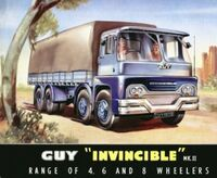 A 1970s GUY Invincible Diesel 8X4