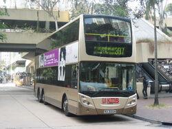 Volvo B9TL Double-Decker Bus