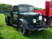 1948 Bedford MSD (LSU 544) dropside, 2012 HCVS Tyne-Tees Run