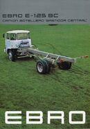 1970s EBRO E125 Diesel lorry