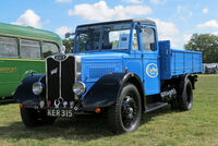 A 1940s GUY Wolf lorry