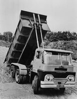 A 1960s GUY Warrior Dumptruck
