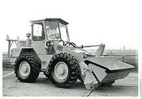 A 1970s BRAY 550 4WD Loader