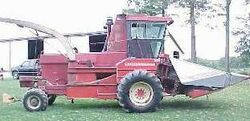 White 802 forage harvester