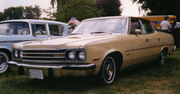 1974 AMC Ambassador Brougham 4-door sedan beige