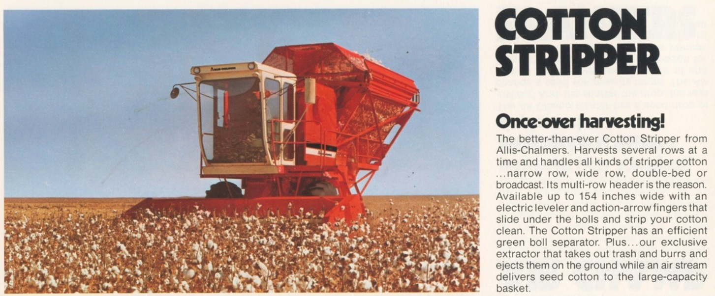 Allis-Chalmers Cotton Picker | Tractor & Construction Plant