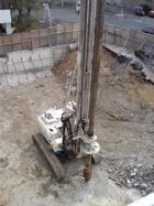 Auger Foundation Pile Drill Rig
