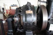 Mather and Platt generator at Ellenroad steam museum - IMG 8496