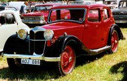 Riley Nine Kestrel Saloon 1936