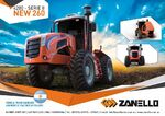 Zanello (CMZ) 4200 Series II New 260 4WD brochure - 2017