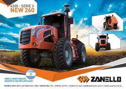 Zanello (CMZ) 4200 Series II New 260 4WD brochure - 2017