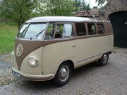 1952 VW Barndoor brown back