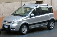 2010 Fiat Panda 4x4 facelift