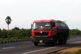 Mahindra Navistar Tanker Truck on NH45 in Tamil Nadu(2013)
