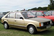 Vauxhall Astra 1598cc first registered October 1983