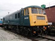 84001 at Crewe Works