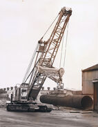 A 1960s NCK Ajax Crawlercrane 65T