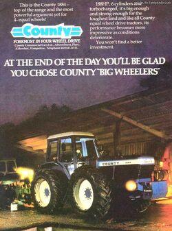 County 1884 4WD brochure