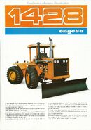 Engesa 1428 4WD brochure (orange)