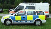 Grampian Police - Ford Transit + Vauxhall Astra estate