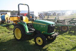 John Deere 3036E - compact tractor - IMG 0589