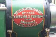 Aveling & Porter no. 11486 plate - IMG 7175