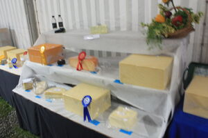 Bakewell Show cheese tent 09 - IMG 261