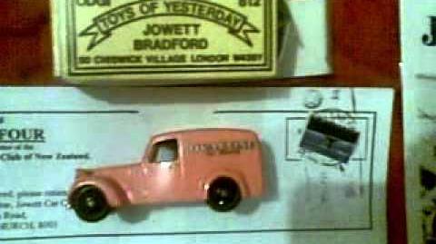 Bradford Jowett Magazines Odgi Toys of Yesterday & Matchbox Minature Cadbury's Vintage CAR Edition