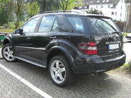 Mercedes ML (W164) Sportpaket rear
