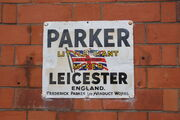 "Parker ""Little Giant"" mixer sign - IMG 8519"