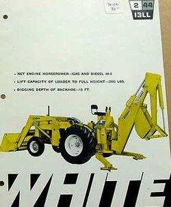 White 2-44 backhoe - 1970