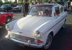 65 Ford Anglia L200 Coupe (Orange Julep)