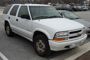 99-02 Chevrolet Blazer TrailBlazer