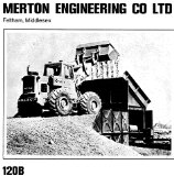 A 1960s Merton 120B 4WD Diesel Loader