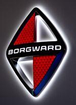Borgward Logo auf der IAA 2017