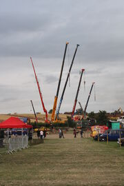 Crane display at welland 2011 - IMG 8965