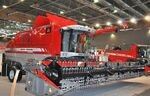 MF 7280 Delta combine - 2012