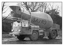 A 1960s HUDSON Frontomatic Truckmixer Diesel