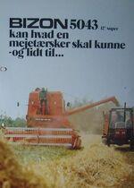 Bizon 5043 combine brochure