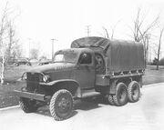 GMC CCKW SWB 6x6 Truck