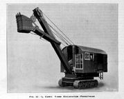 A 1930s Priestman Brothers Crawler Excavator