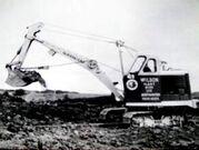A 1950s Priestman Brothers Cub Excavator Diesel
