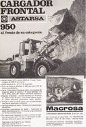 Astarsa 950 wheel loader (Macrosa) ad