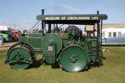 Aveling-Barford AD670 - DX6 motor roller - Violet - TL 8524 at Lincoln 09 - IMG 4399